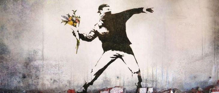 banksy-thug-flowers-mural-design